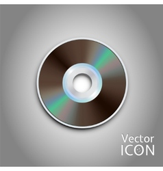 Dvd cd disc computer disks realistic image vector