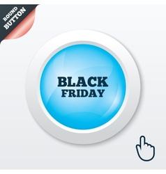 Black friday sign icon sale symbol vector