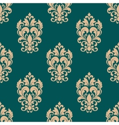 Foliage victorian seamless design vector