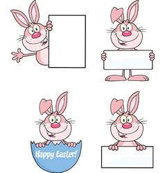 Bunny cartoon design vector