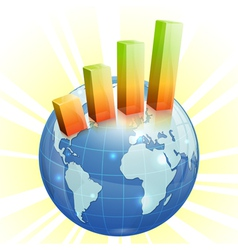 Concept - global business vector