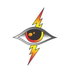One eye of god vector