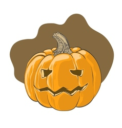 Halloween pumpkin - vector