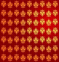 Royal gold pattern vector