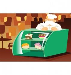 Bakery store vector