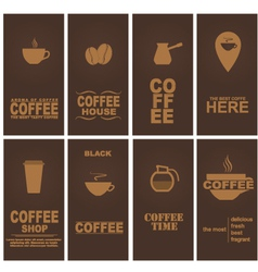 Design coffee 1 vector