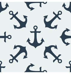 Nautical anchor vector
