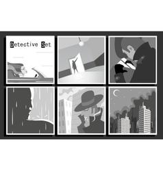 Detectiveset vector