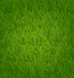 Green grass field nature background vector