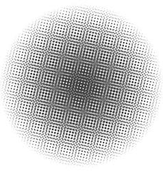 Optical dots radial gradient vector