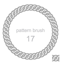 Ancient pattern curls decor vector