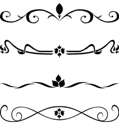 Abstract decor set vector