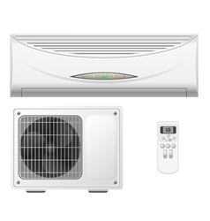Air conditioning split system vector
