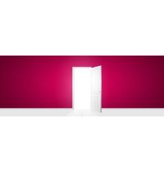 Open door vector