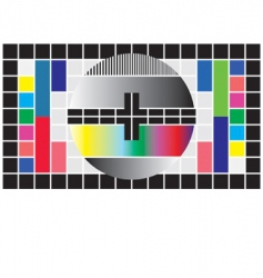 Test television screen vector