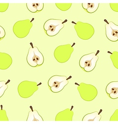 Pear seamless vector