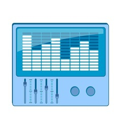 Eq equalizer graphics vector