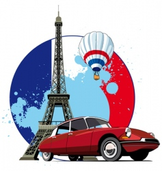 French style vector
