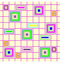 Seamless squares vector