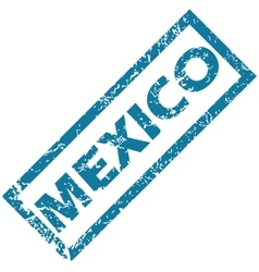 Mexico rubber stamp vector