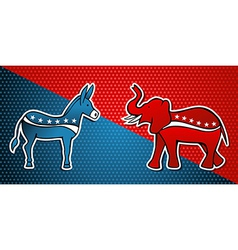 Democratic republican party vector