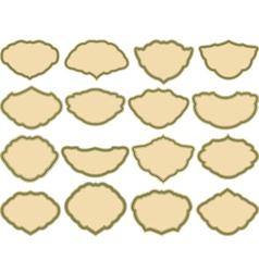 Simple frames vector