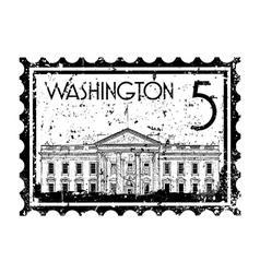 Washington icon vector