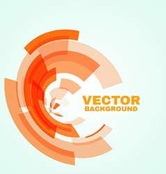 Abstract technology circle vector