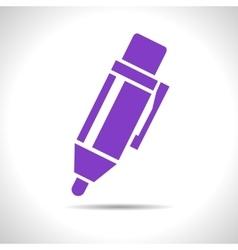 Pen icon eps10 vector