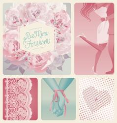 Love design elements vector