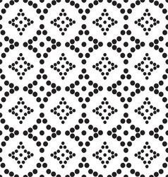 Ornament seamless monochrome black mug vector