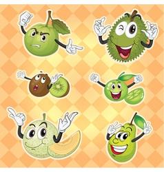 Various fruits vector
