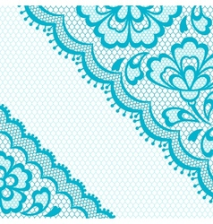 Vintage lace frame abstract ornament texture vector