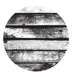 Circle wooden vector