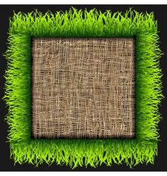 Eco frame vector