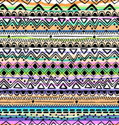 Tribal stripe seamless print vector