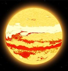 Jupiter planet vector