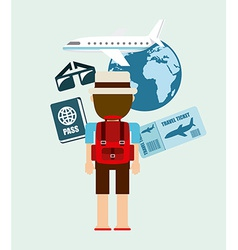Holiday travel vector