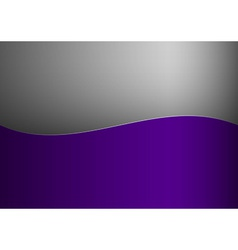 Background purple stripe wave one grey vector