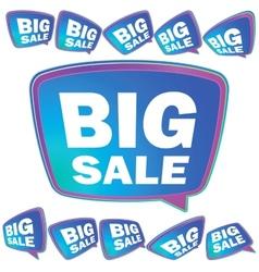 3d big sale tags  eps8 vector