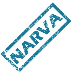 Narva rubber stamp vector