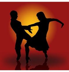 Samba dancers vector