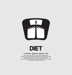 Dietetics concept vector