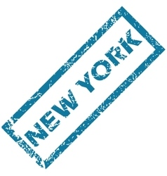 New york rubber stamp vector