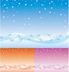 Xmas backdrop vector