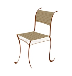 Icon chair vector