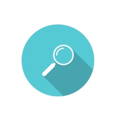 Loupe icon vector