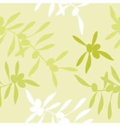 Realistic olive oil background vector
