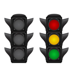 Traffic light 03 vector