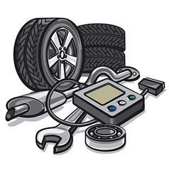 Car service vector